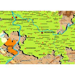 Karte Der Kurpfalz