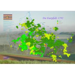 Die neue Karte der Kurpfalz