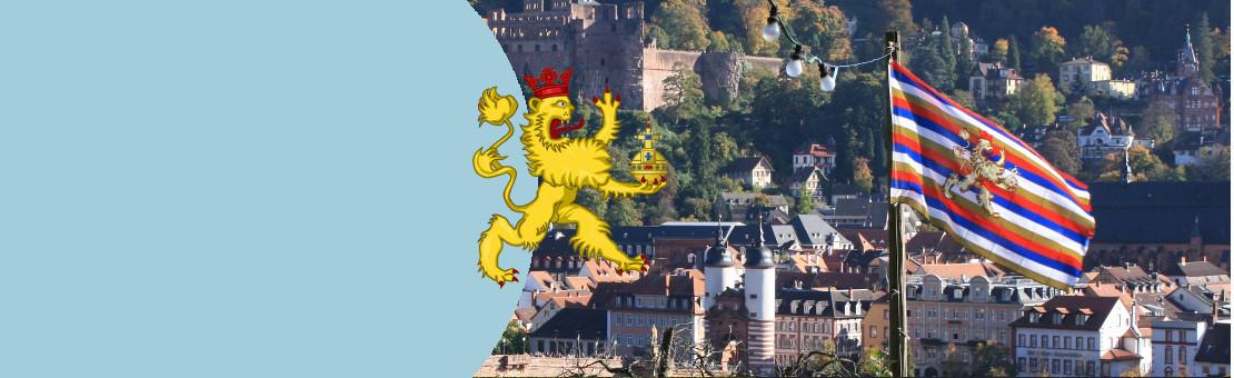 Die Flagge der Kurpfalz